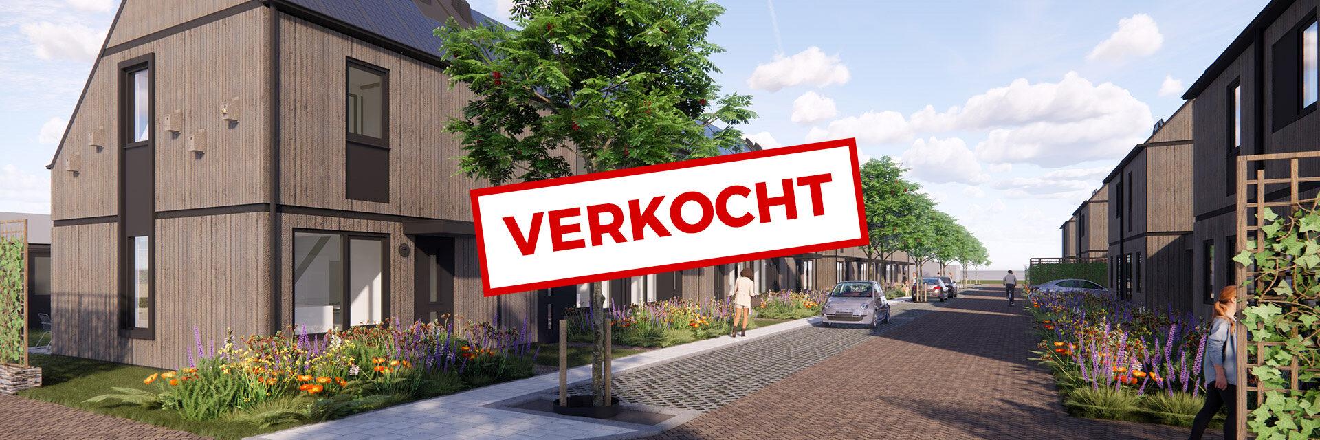 12 starterswoningen in Herwen